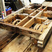 TRvan6 - dismantling the underframe