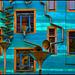 Dresdner Hinterhöfe: Blaues-Haus mit Wassermusik