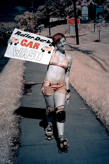 Roller Derby carwash