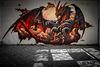 Graffiti in der Fleischfabrik
