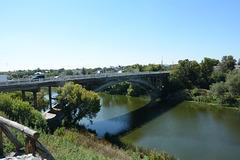 Белая Церковь, Мост через реку Рось