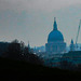 St Pauls with cranes