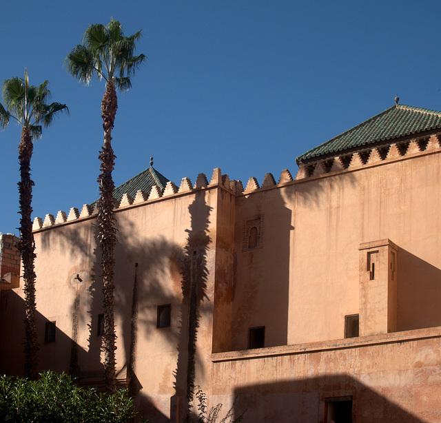 Marrakesch - Tombeaux Saaladiens