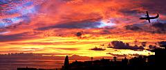 Sonnenaufgang auf den Kanarischen Inseln.  ©UdoSm