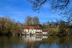 Moulin au bord du Loiret