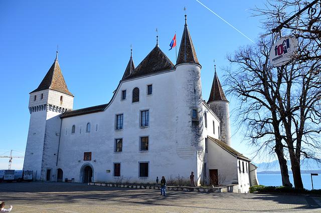 Das Schloss von Nyon