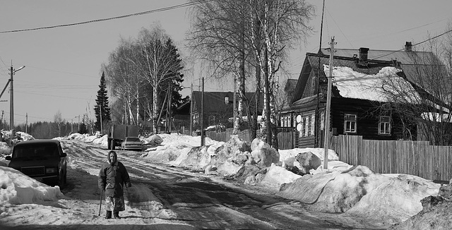 Parfenevo Village, Kostroma Region
