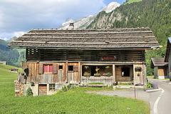 Le Grand Bornand, hameau des Plans (74) 22 juin 2018.