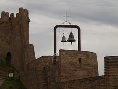Walls of Narikala Fortress.