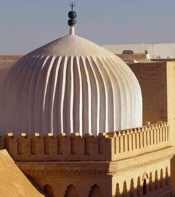 White dome Qayrawan mosque
