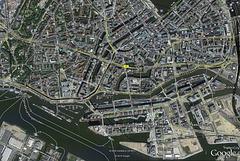 Stadtplan HH City+Hafen