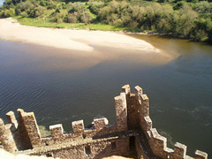 Almourol Castle and River Tagus.