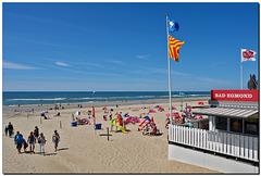 Strand Zugang
