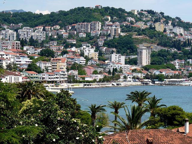 Igalo and Herceg Novi From Palmon Bay Hotel