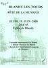Concert Ancoeur à l'église de Blandy-les-Tours le 19/06/2008