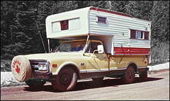 1977 - Our first truck and camper.