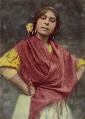 Spanish Romani Girl, from Granada
