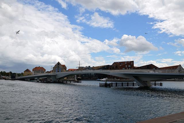 Spaziergang an der Promenade in Kopenhagen