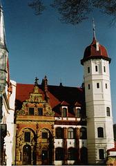 Schloss Basedow - Innenhof