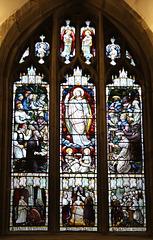 Queen Victoria Jubilee Window, Great Malvern Priory, Worcestershire