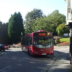 DSCF1388 Transdev Harrogate and District YK04 JYP in Pateley Bridge - 28 Aug 2015