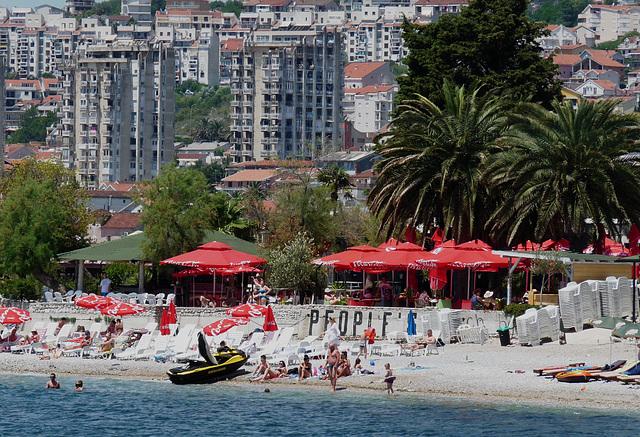 Herceg Novi- People's Beach