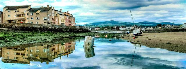 Low tide - Dungarvan,  Waterford, Ireland.