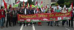 Gueret2015 Melanchon banderole