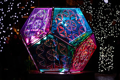 Winter Lights : Dazzling Dodecahedron