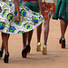 Bindubaba /Ugandans Goddesses in extreme high heels