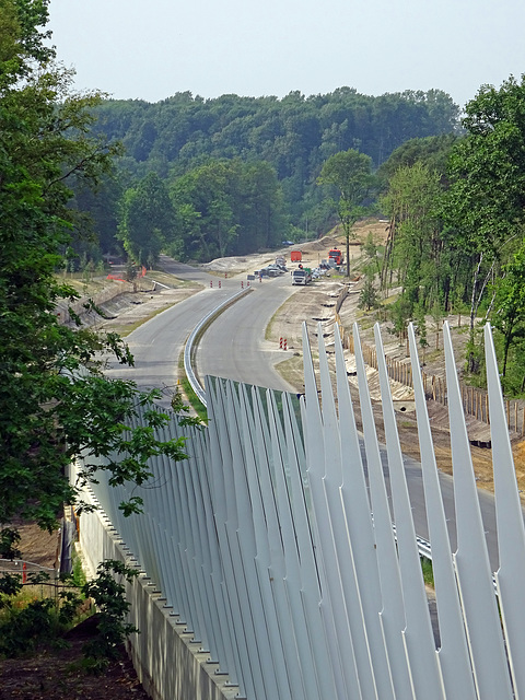traject aanleg  Buitenring Toeristenweg Brunssum