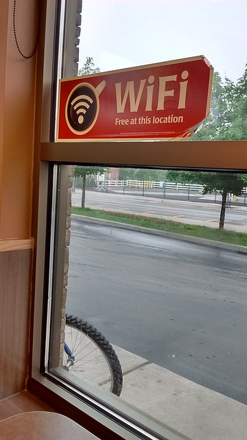 Wifi du matin / Morning wifi