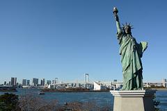 Japan, Statue of Liberty in Tokyo