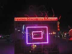 Flying Spaghetti Monster (7076)