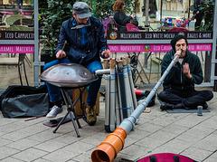 Hamburger Straßenmusiker