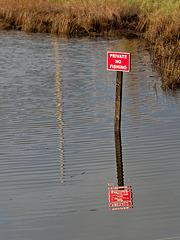 Private.  No Fishing.
