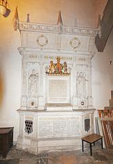 First World War Memorial, Great Malvern Priory, Worcestershire