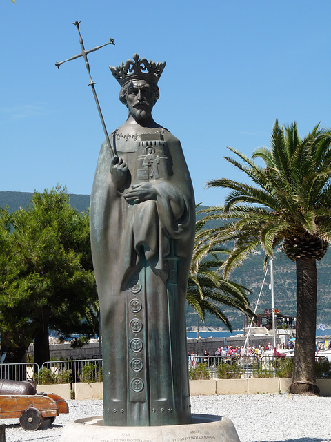 Herceg Novi- Statue of Tvrtko I, First King of Bosnia