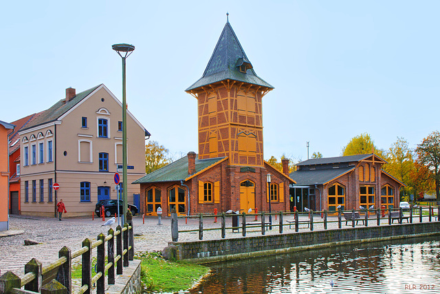 Teterow, Feuerwehr-Museum   ... HFF!