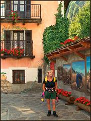 Usseaux : il paese dei murales - (764)