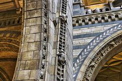 A Stonemason's Whimsy – Natural History Museum, South Kensington, London, England