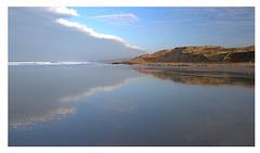 Entre dunes et nuages
