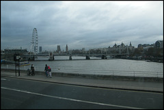 grey day on Waterloo Bridge