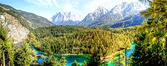 Herbst in den Tiroler Alpen. ©UdoSm
