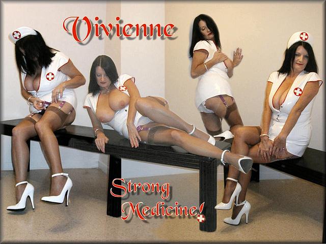 Vivienne /  Nurse in white pumps