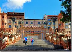 """""""Escalinata del Óvalo"""" -  Teruel - Aragón"""