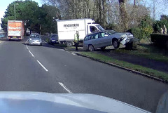 Ooops - Caught on dash cam