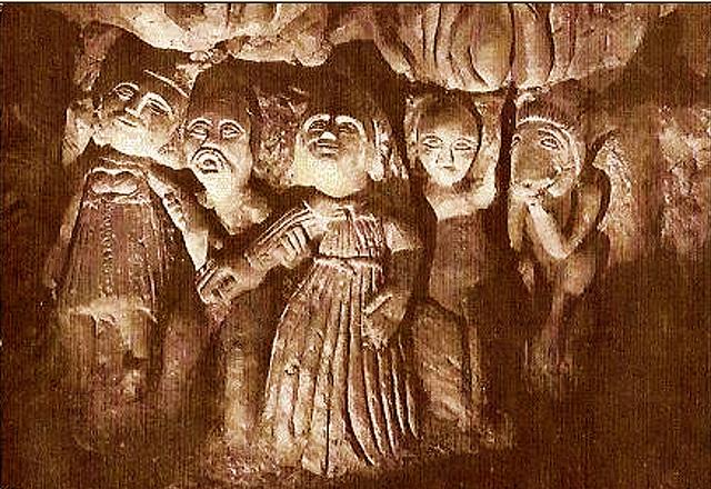 Mariage Initiatique - Cave Sculptée, Dénezé-sous-Doué
