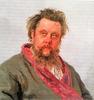 """""""MODEST MUSSORGSKY"""" (1881)"""