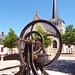 SULLY SUR LOIRE la pompe devant l'Eglise Saint Germain